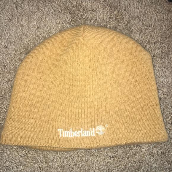 Dark yellow Timberland beanie. M 5b132b1b0cb5aa291aa6c5b5 2d345688828